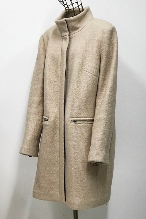 Reserved Nude Wool Coat