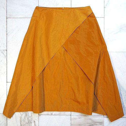NUBU Mustard A-line Skirt
