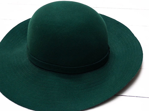 COLLEZIONE ALESSANDRO Deepgreen Wool Hat