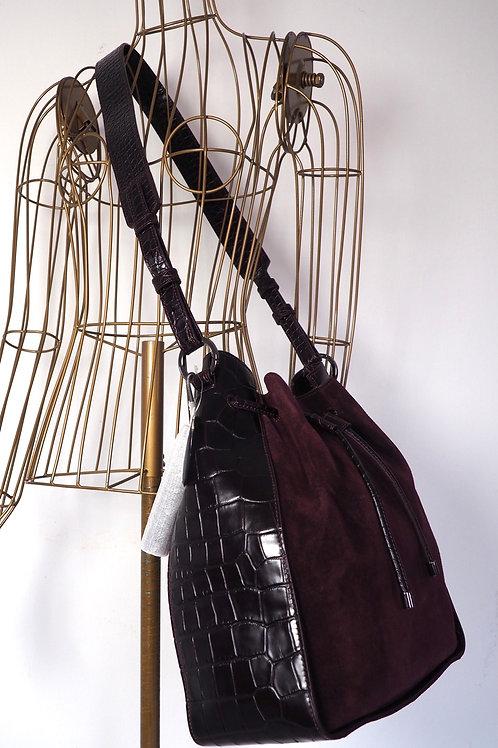 HÖGL Aubergine Bucket Bag