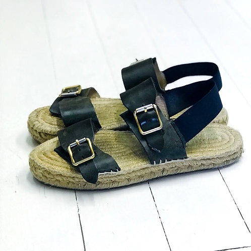 NANUSHKA Buckled Leather Sandal