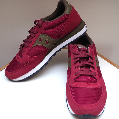 SAUCONY Jazz Textile/Leather Sneakers