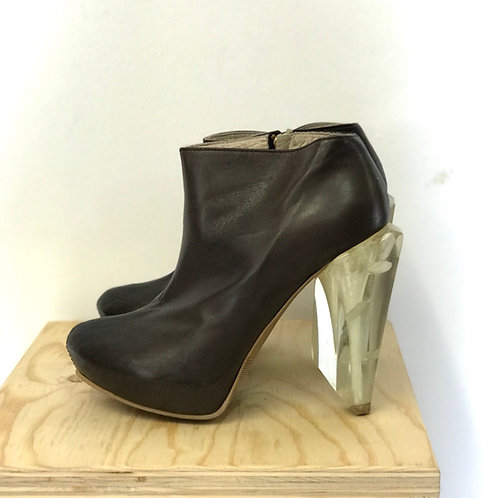 KEPP SHOWROOM Leather Ankleboots