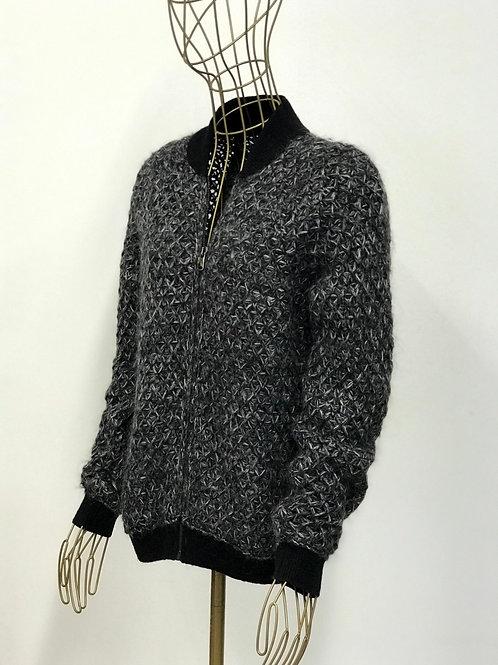 Benetton Knitted Bomber