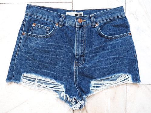 TOPSHOP Ripped Shorts