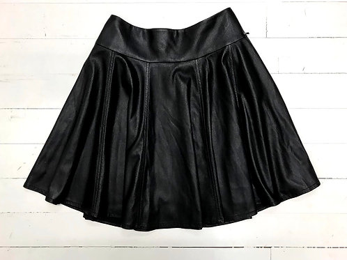 Cinque Faux Leather Skirt