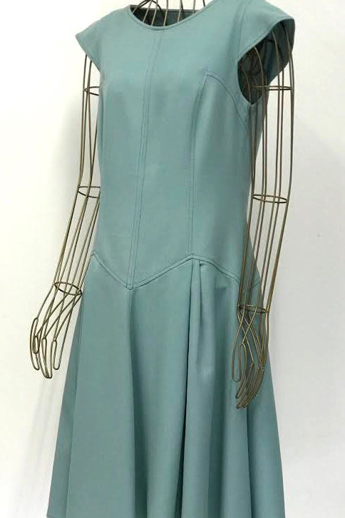 InTrend Teal Woven Dress