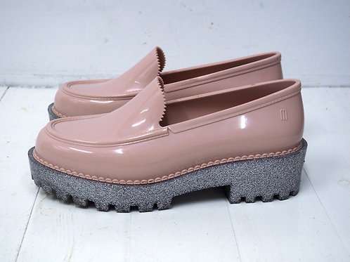 MELISSA Plastic Loafer with Glitter