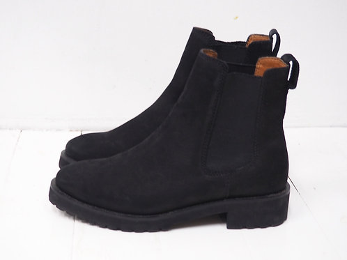 H&M Leather Classic Ankleboots
