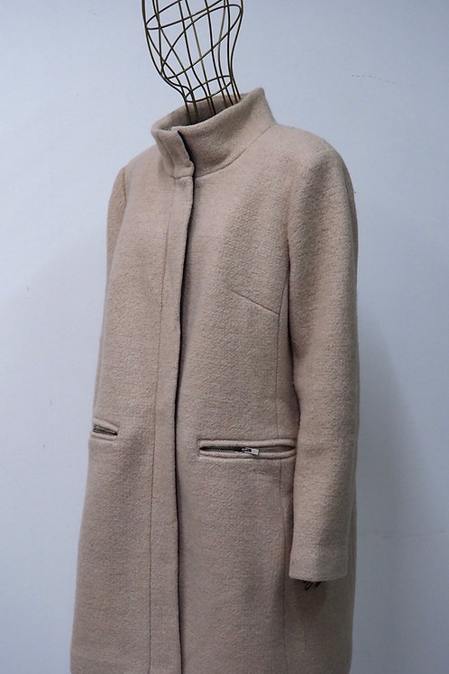 RESERVED Clean Lined Wool Coat