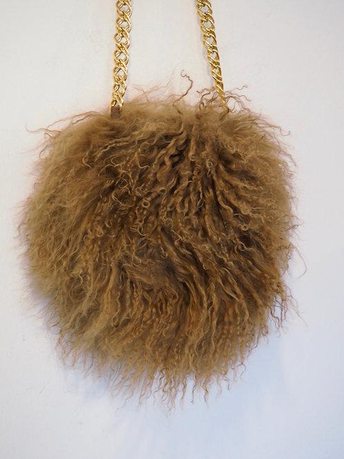 POMBAG BY NINI MOLNAR - Fur Bag with Chain