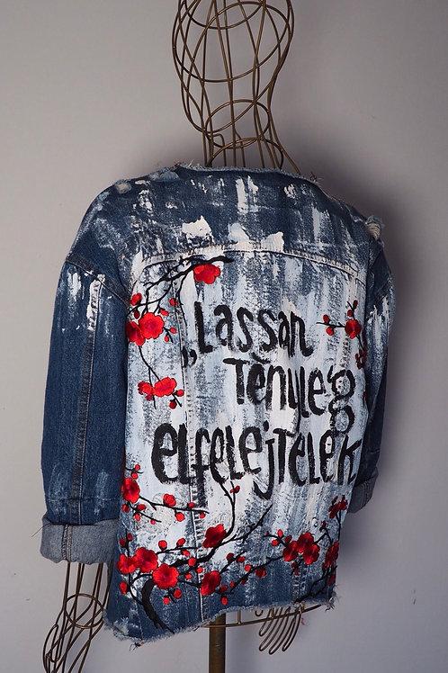 Y KONSZEPT Handpainted Vintage Denim Jacket