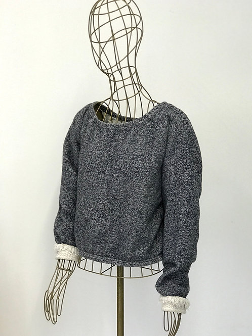 Je Suis Belle Crop Sweater