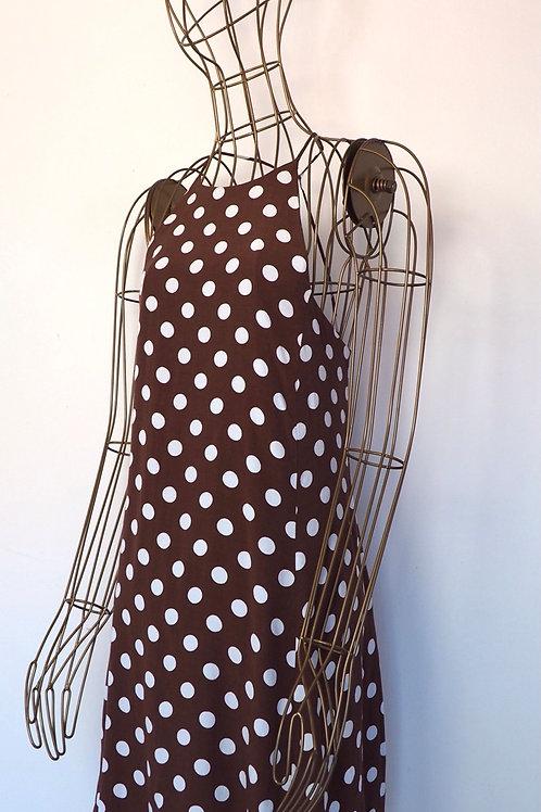 ZARA Brown Dot Dress
