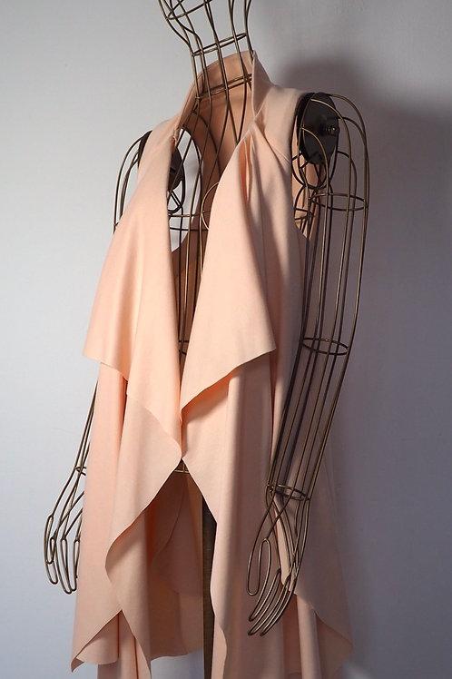 OH MY DEER Pastel Peach Vest