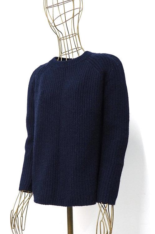 MANGO Deepblue Knit Sweater