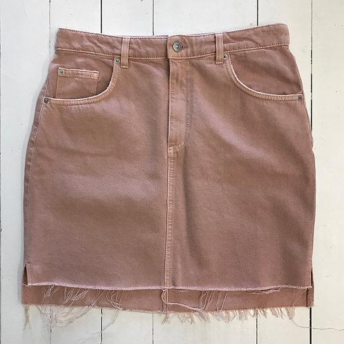 H&M Pastel Denim Skirt