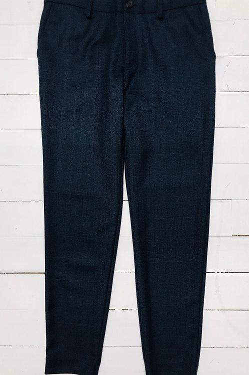 Second Female Blue Herringbone Pants