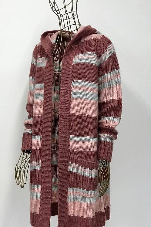 Colours of the World Striped Cardigan