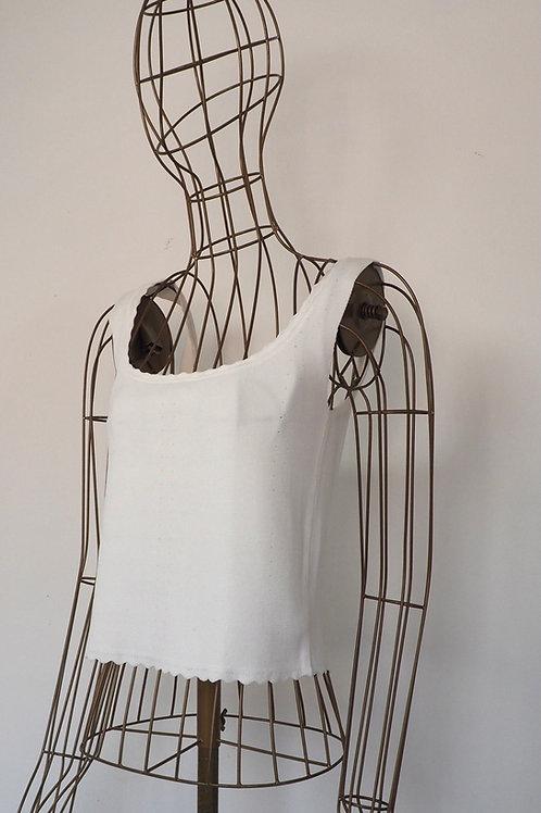 ZARA Knit White Croptop
