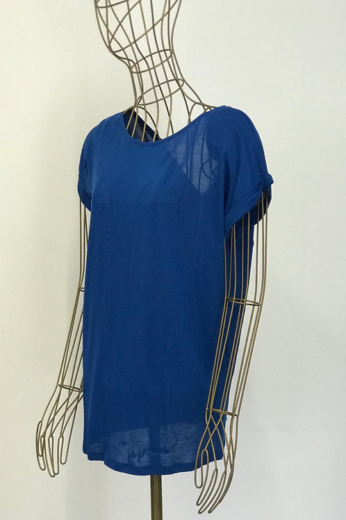 BENETTON Electric Blue Top
