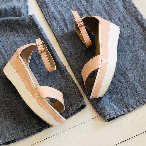 Pastel High Sandals