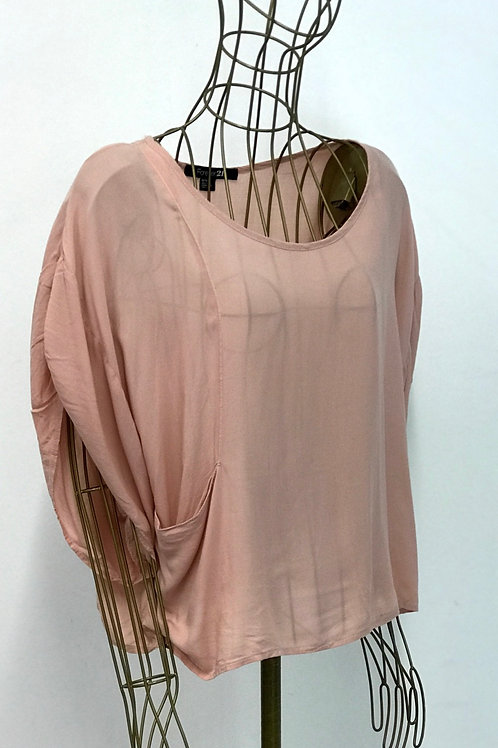 FOREVER21 Pastel Rose Top