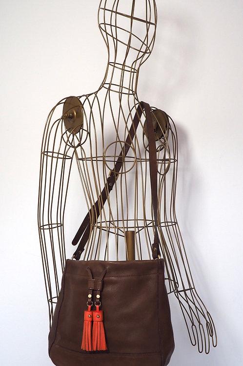 MASSIMO DUTTI Crossbody Bag with Fringe