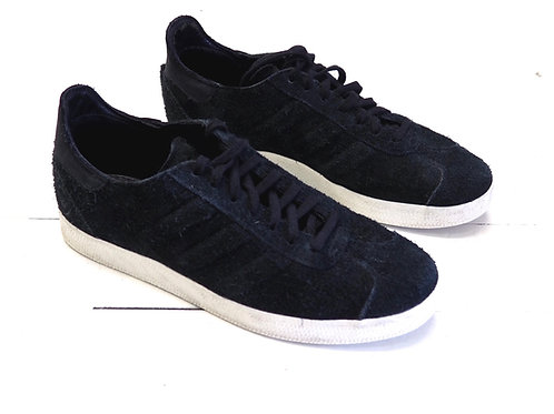 ADIDAS Black Suede Leather Sneakers