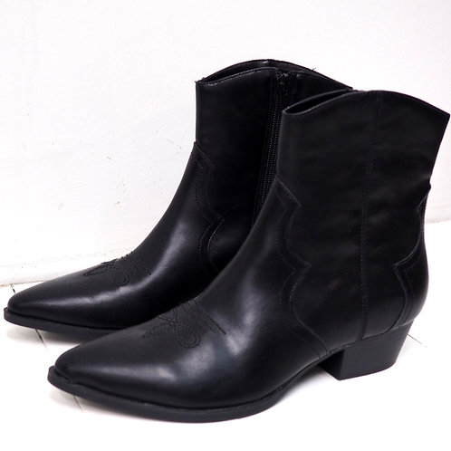 PULL&BEAR Western Ankleboots