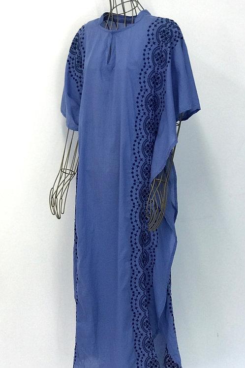 KAMALA KAFTAN Embroidered Kaftan Dress