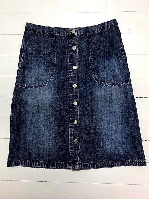 H&M Denim Skirt Buttons