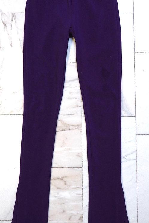 ZARA Purple Palazzo Pants