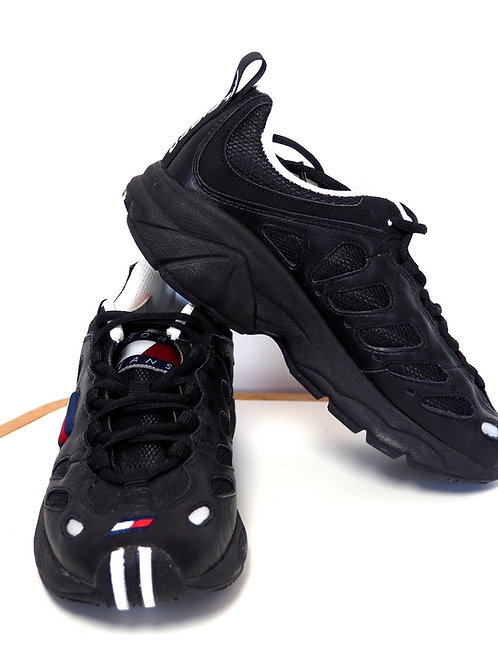 TOMMY HILFIGER Leather/Textile Sneakers