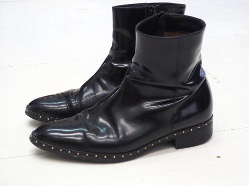 PERTINI Shiny Studded Boots