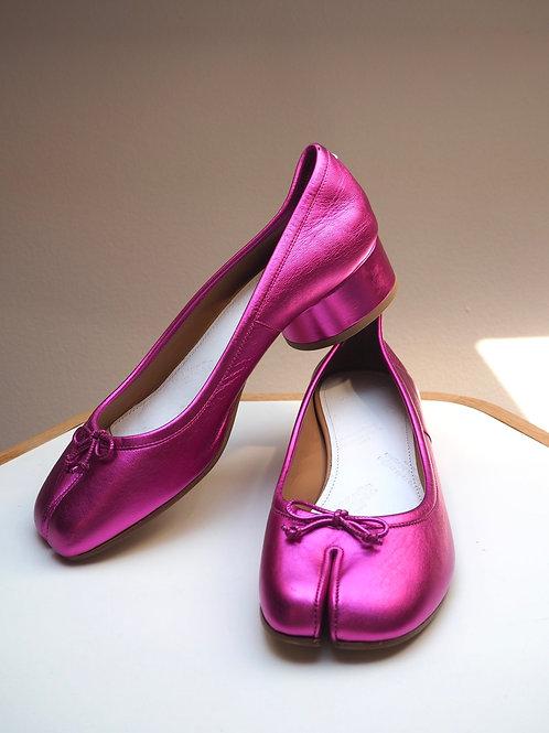 MAISON MARGIELA Pink Tabi Balerinas