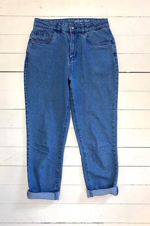 NOISY MAY Soft Mom Jeans