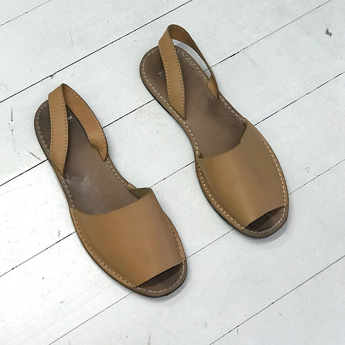 PULL&BEAR Leather Sandals