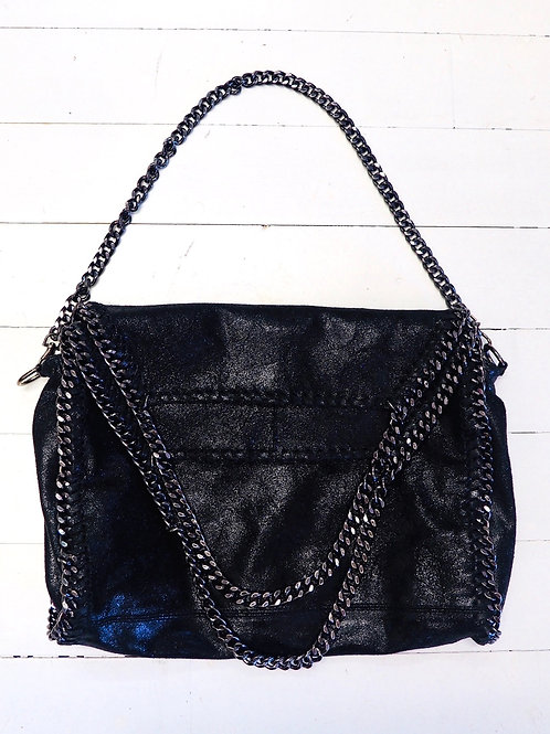 Leather Chainbag with a little sparkle