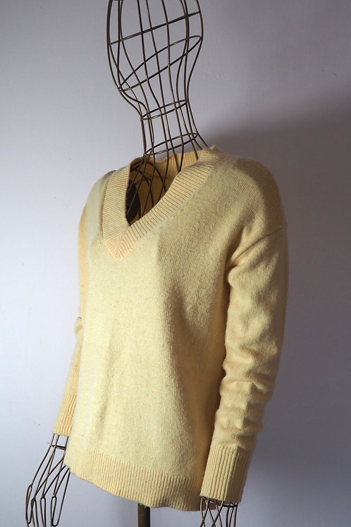 MASSIMO DUTTI Yellow Sweater