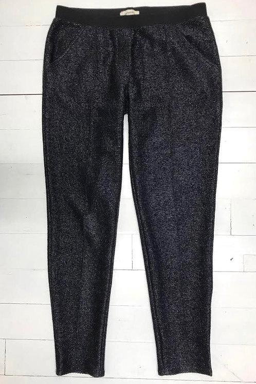 Nanushka Black Woven Pants