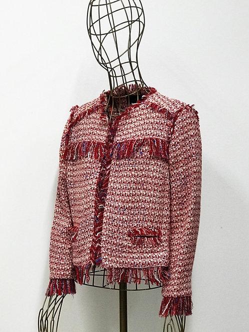 Zara Woven Red Jacket