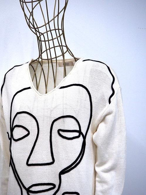 ÁERON Face Sweater