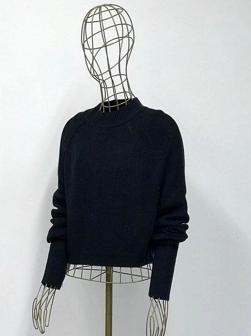 Hollister Darkblue Knitted Sweater