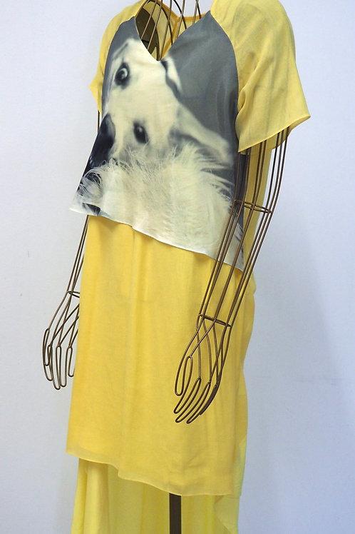 JE SUIS BELLE Asymmetric Dress