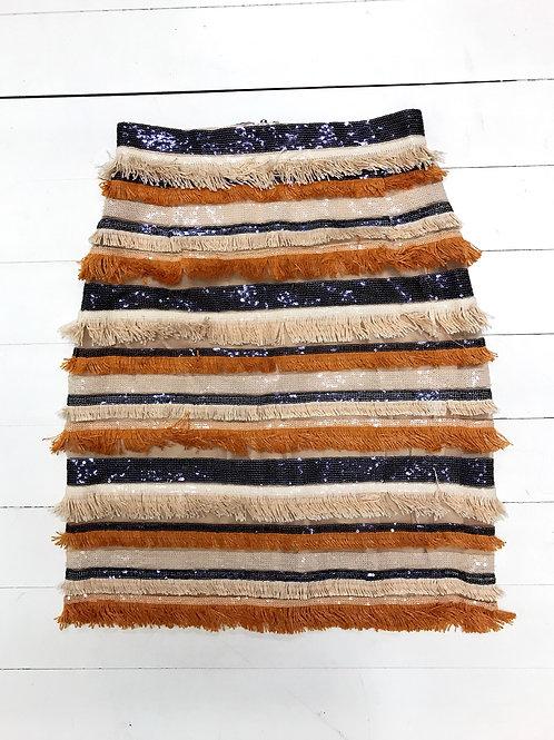 USE Fringe Sparkling Skirt