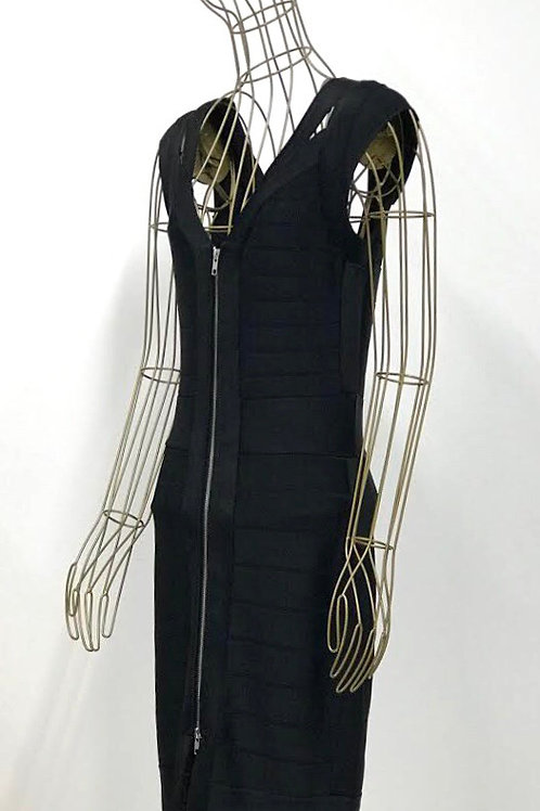 French Connection Zipped Bodycon Dress