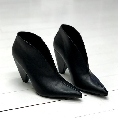 Forever21 Black Booties with Splits