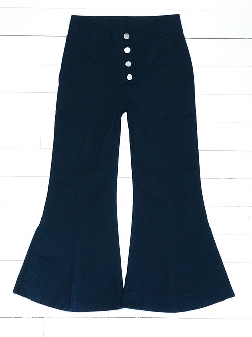 H&M Studio Deepblue Wideleg Pants