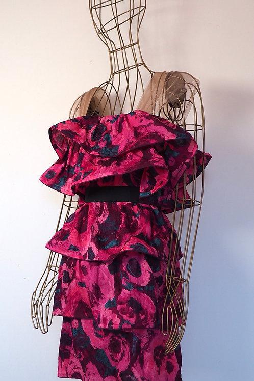 LANVIN x H&M Frill Flower Dress